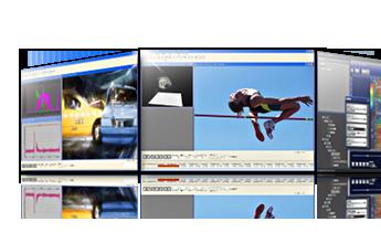 PIV解析(画像計測)・運動解析ソフトウェア